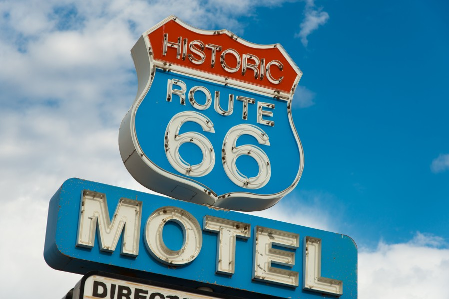 Route 66 motel i California