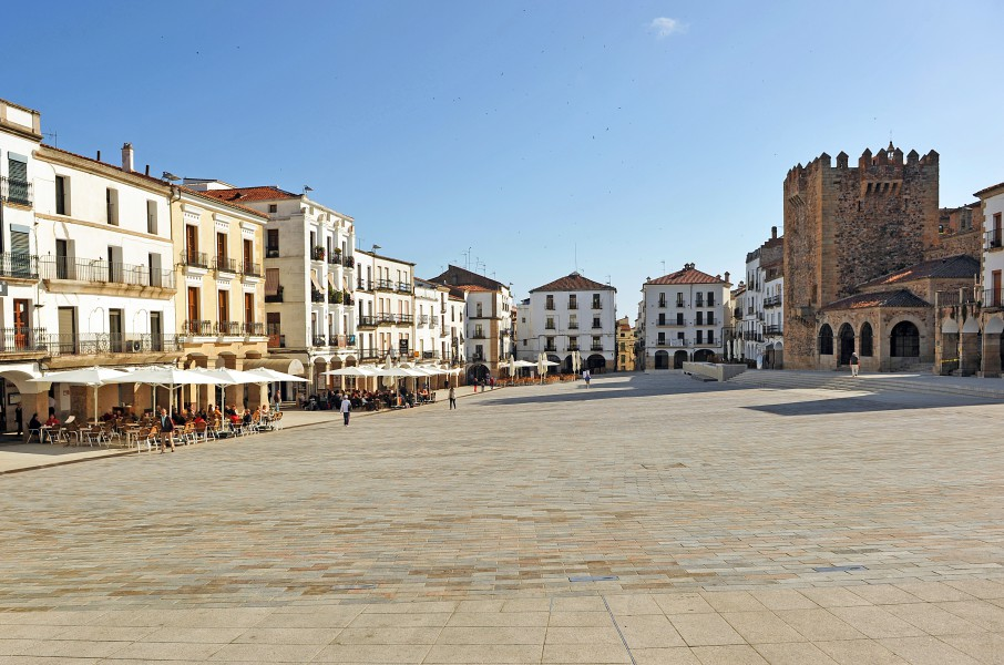 Caceres, Plaza Mayor